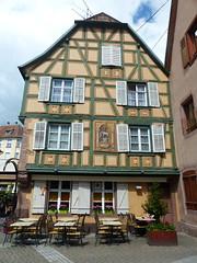 Ribeauvill - Alsace/Elsa (thobern1) Tags: ribeauvill alsace elsas france truss colombine halftimbered fachwerk