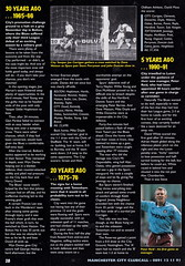 Manchester City vs Wimbledon - 1995 - Page (The Sky Strikers) Tags: road city magazine manchester one official maine match wimbledon premier pound league fa sixty premiership carling