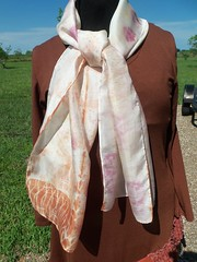 Etsy006 (5) (theresaknits) Tags: silk printing scarves dyeing eco