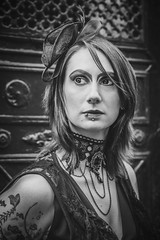 Shooting - Abysse 009 (Thomas Mathues) Tags: portrait cemetery graveyard dark model photoshoot mourning belgium belgique tomb gothic goth shooting widow gothique tombe cimetire modle hainaut