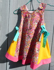 dress fizz bubbles juicy fruits (paysmage) Tags: pink summer girl fashion yellow fruit digital print fun design spring rainbow pod colorful pattern child dress designer sewing decoration bubbles fresh collection fabric cotton bow ultra multicolor bubbly seamless fizzy fabrics designers fizz garment frutti printondemand spoonflower paysmage