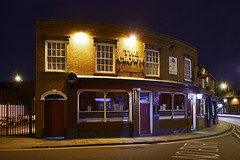 The Crown, Cheapside, Willenhall 26/02/2016 (Gary S. Crutchley) Tags: street uk travel england urban house black west heritage history public beer bar night dark ed evening town pub inn nikon long exposure raw slow nightscape shot nightshot image time britain united country great ale kingdom s tavern shutter after local nightphoto af nikkor townscape staffordshire westmidlands walsall midlands d800 blackcountry staffs 1635mm nightimage hostelry nightphotograph willenhall f40g walsallweb walsallflickr