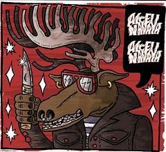 E.p cover  sketch (Viriu ( chatarra ilustrativa )) Tags: rock design punk knife moose cover punkrock diseo ilustration ilustracion ilustracin garaje singlecover