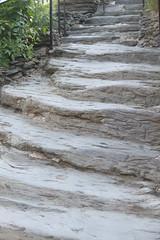 Hand-hewn Stairway (eyriel) Tags: rock steps carve step steep harpersferrywv