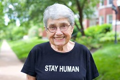 Hedy Epstein, 1924-2016 Holocaust survivor Hedy Epstein, 91, died at her home in St. Louis, Missouri, USA, on May 26, 2016. An internationally renowned, respected and admired advocate for human and civil rights, Hedy was encircled by friends who lovingly (Palreports) Tags: israel palestine occupation