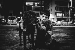 izmir noire (anilaydn) Tags: street bw dog animal turkey fuji fujifilm popular izmir alsancak noire vsco x100s