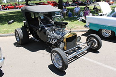 """Ford Bucket """" T """" Roadster (eagle69er) Tags: show car grove micke 2016"""