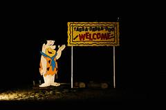 Dark Desert Highway (ErikHGPhoto) Tags: flinstones arizona
