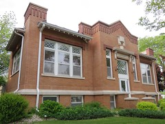 Carnegie Library (Nashua, Iowa) (courthouselover) Tags: libraries iowa ia nashua carnegielibraries chickasawcounty
