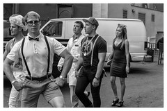 nerd_photobomb (peterjcb) Tags: street leica people photography 50mm nc charlotte m monochrom vii summiluxpreasph