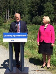 Province provides $7.65 million for Coquitlam dike (BC Gov Photos) Tags: flooding flood coquitlam highwater dike publicsafety pittriver