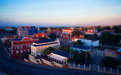 wipe your bleary eyes (rachelstander) Tags: sunrise curacao caribbean willemstad antilles tiltshift d90 sigma1020mmf456 cruise2013
