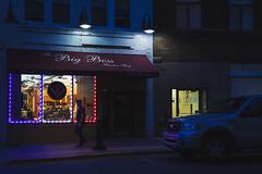 The Big Boss (SauceyJack) Tags: street sign lights illinois neon streetphotography il barbershop aurora barber 2016 40mmf28 40mmpancake lrcc sauceyjack lightroomcc canon1dxmarkii