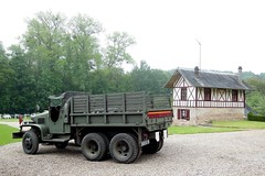 GMC CCKW-352 Cabine torpedo (xavnco2) Tags: france truck army wwii vehicles lorry camion maison chteau gmc picardie lkw colombages somme autocarro militaires vhicules cckw tailly 2medb