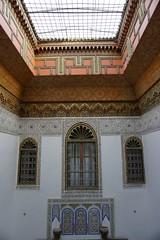 Fes Morocco-Dar El Bali Hotel-Courtyard.2-2016 (Julia Kostecka) Tags: hotel dar morocco fes guesthouse riad feselbali darelbali
