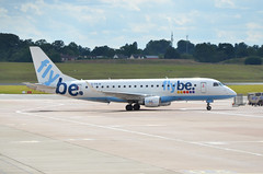 Flybe E175 G-FBJB, Birmingham (Bristol Airport Spotter) Tags: uk travel england airplane airport movement birmingham jet apron international passenger regional airliner 175 midlands embraer flybe bhx emb175 e175 ejet