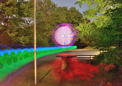 Lapp 1025 (andreasmertens) Tags: lightpainting art painting deutschland photography lights performance tisch langzeitbelichtung lapp lichtkunst ihle runder kreisolpe repetal nachtfotographie andreasmertens
