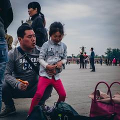 Tiananmen Square 05 (Barthmich) Tags: voyage china trip fuji beijing journey fujifilm  1855mm  fujinon chine lightroom xf pkin xe2 fujixe2