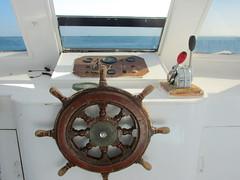 Sailing Wheel (shaire productions) Tags: egypt egyptian travel image picture photo photograph view world hurghada sailing redsea travelphotography nautilus indoors navigation sailingwheel sea ocean marine