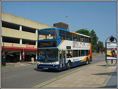 18408, Greyfriars (Jason 87030) Tags: northampton 10 northamptonshire 400 alexander roadside dennis fleet northants alx stagecoach doubledecker greyfriars trident kettering mayorhold 18408 kx06jxz westhunsbury