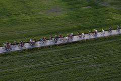 Across (olamorken) Tags: green field canon aerialphoto bikerace across garder csr heliphoto vestby 1dx noraviation