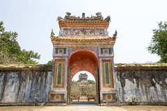 The Gate of Imperial Tomb of Tu Duc (Evgeny Ermakov) Tags: travel vacation color building heritage tourism monument colors beautiful beauty wall architecture asian religious ancient gate asia southeastasia vietnamese arch view outdoor traditional famous religion tomb scenic culture landmark architectural unescoworldheritagesite unesco vietnam architect ornament journey gateway imperial destination daytime local archway southeast hue cultural touristic tuduc tuductomb imperialtomb