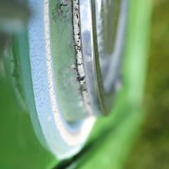 Bus 3 - perished (Andrew Malbon) Tags: light bus green 50mm sigma portsmouth wabisabi headlamp southsea merrill foveon 50mmf28 dp3 vintagebus southseacommon dp3m sigmadp3