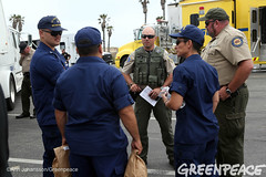 Authorities Deal With Oil Spill (Greenpeace USA 2016) Tags: oil spill pipeline fossilfuel ventura california pollution cleanup crude ca usa