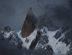 Ladyfinger (Minhaj Qazi) Tags: pakistan mountains geography hunza northernpakistan ladyfinger karakorum batura bublimotin