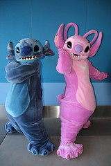 Stitch and Angel (sidonald) Tags: angel tokyo stitch disney greeting tokyodisneyland tdl tdr tokyodisneyresort