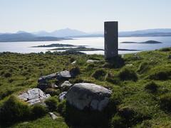 02_06_2016_1023 (andysuttonphotography) Tags: sea point island coast scotland top hill pillar scottish summit mapping survey isle mor barr hebrides lismore trig ordnance triangulation hebridean