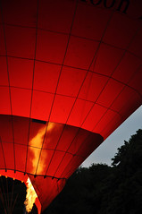 DSC_5680 [ps] - Burn Off (Anyhoo) Tags: uk red england orange fire grid balloon surrey virgin burning flame burn fabric flare hotairballoon material cloth stitched incandescent dunsfold plume seams anyhoo photobyanyhoo