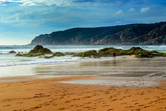 Praia do Guincho (lara_1012) Tags: ocean sea beach portugal water landscape coast seaside sand lisbon atlantic shore guincho