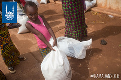 Islamic Relief's Ramadan food package distribution in Mali