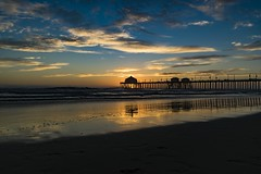 Expected (ATOM1_Productions) Tags: pink sunset sky cloud sun beach water skyline architecture clouds pier outdoor dusk sony huntington diner wideangle bluesky panoramic structure socal rubys hb pinkclouds surfcity hbpier apsc