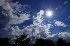 sky (ingrid eulenfan) Tags: sky himmel wolken leipzig sonne