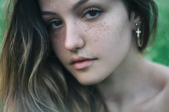 Perfect imperfections (Litvac Leonid) Tags: light portrait italy beauty photography 50mm daylight nikon italia natural freckles ll freckled leonid litvac