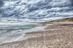 Cold Windy day at the Beach_2419 (Manni750) Tags: winter sky cold beach clouds day stones windy sellicks