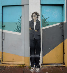 Street art / graffiti, Eastbourne, June 2016 (roger.w800) Tags: streetart graffiti eastbourne sussex seasidetown music musicians singer musicianswhodiedyoung amywinehouse elvispresley tupacshakur janisjoplin kurtcobain whitneyhouston michaeljackson johnlennon bobmarley jimihendrix mural tribute