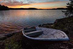 Untitled (JuNu_photography) Tags: sunset lake 3 canon landscape boat midsummer mark iii wideangle shore 5d ef 1740mm hdr maisema juhannus waterscape vene ranta jrvi auringonlasku vesist 5d3