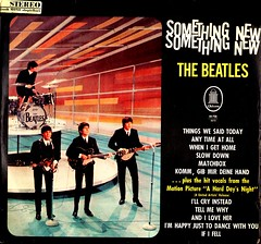 Beatles, The - Something New - D - 1964 (Affendaddy) Tags: germany emi odeon 1964 thebeatles electrola somethingnew vinylalbums collectionklaushiltscher british1960sbeat smo73756