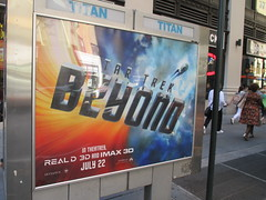 Star Trek Beyond Poster Billboard Phone Booth AD 1907 (Brechtbug) Tags: show street new york city nyc fiction film television st trek booth movie poster star tv jj theater phone mr theatre manhattan district space rip ad broadway science billboard midtown sidewalk ave captain spock scifi series beyond anton 1960s avenue abrams 7th futuristic kirk 32nd 2016 standee standees yelchin 06292016