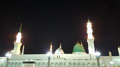 MashAllah! Gumbad-e-Khizraa, Masjid Nabwwi (S.A.W.W), Madina Al Munnawara, Saudi Arabia (  d   ) Tags: mashallah gumbadekhizraa masjidnabwwisaww madinaalmunnawara saudiarabia mashaallah mashallahgumbadekhizraa greendome