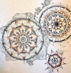 Mandala 217 (LviaVieitoLT) Tags: drawing mandala zen draw desenho nankin nanquim zentangle zendoodle zendala