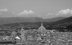 Duomo di Firenze (gabriele.pratesi) Tags: bw florence firenze michelangelo piazzale brunelleschi