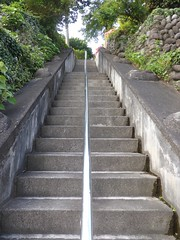 Steps to Temple 7 (Stop carbon pollution) Tags: japan  saitamaken  chichibu  34kannonpilgrimage  stairs
