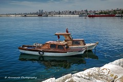 Boats 3 (`ARroWCoLT) Tags: park sea seascape reflection rock turkey boats boat cityscape türkiye samsung istanbul f2 seashore deniz kaya marmara manzara sahil tekne 30mm turkei kayık maltepe nx300