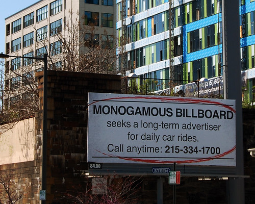 Monogamous Billboard and Reading Viaduct