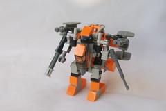 CASD VMF-32ng Nostalgia (milt69466) Tags: mecha mech moc microscale mechaton mfz mf0 mobileframezero orangeguild