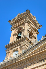 Church tower (Waupee08) Tags: building tower church architecture religious place symbol traditional religion culture sunny malta historic christian karl christianity spirituality maltese bloch
